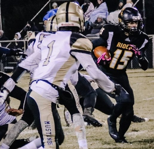 BRUCE IN THE RECORD BOOK: Hulbert tailback sets state mark
