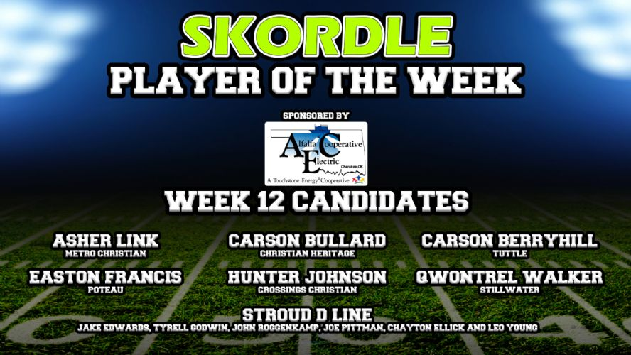 Week 12 Player of the Week