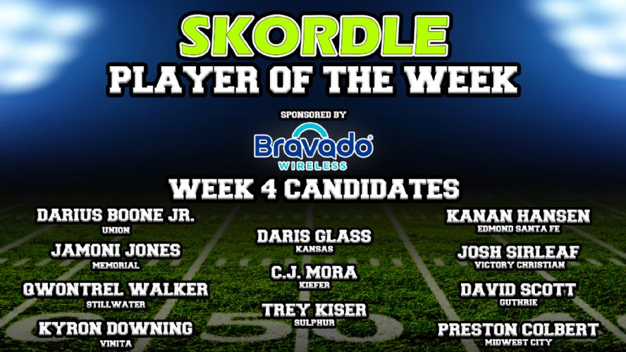 Week 4 Player of the Week Poll