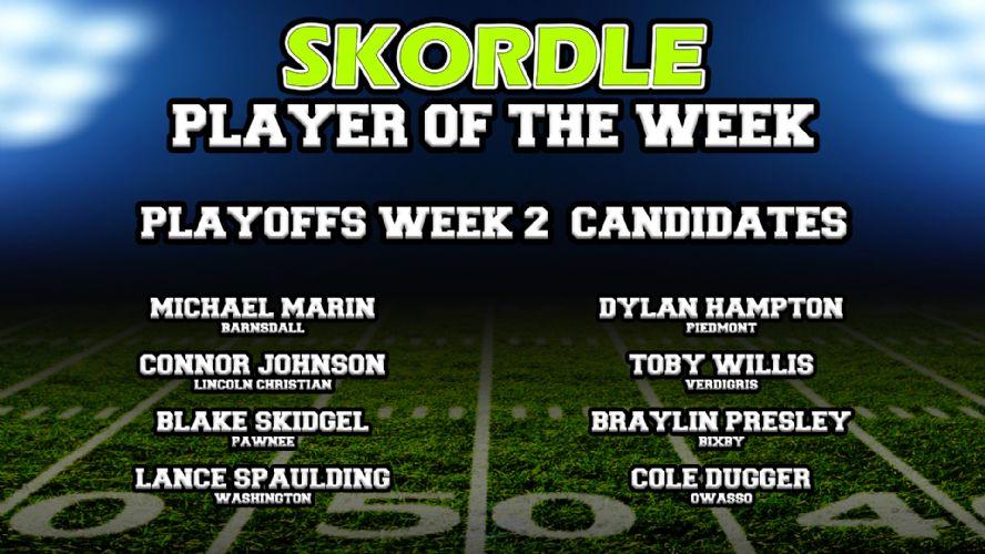 Player of the Week Poll: Playoffs Week 2